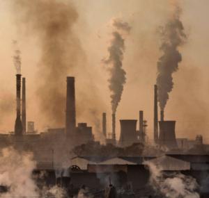 smog zanieczyszcza powietrze